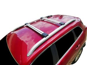 Alloy Roof Rack Slim Cross Bar for MG ZS 2017-21 with Roof Rails Lockable