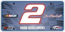 #2 Brad Keselowski Signature Series Souvenir License Plate SS0211WH