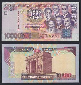 Ghana 10000 cedis 2003 FDS/UNC  C-05