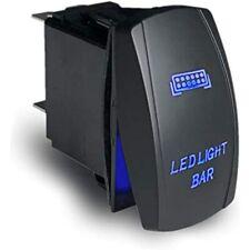 Led Rocker Switch On-Off, Laser Etched Light Bar (Blue) Industrial &amp
