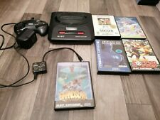 Sega Mega Drive II Spielekonsole - Schwarz (PAL) 5 Spiele