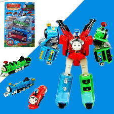 "Thomas Train Transformer ""Super Thomas"" Voltron Devastator Tank Engine 3 in 1"