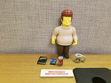 Playmates Toys Simpsons World of Springfield Brad Goodman figure, complete!