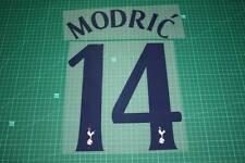 Tottenham Hotspur 10/11 #14 MODRIC UEFA Champions League Homekit Nameset Print