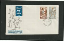 New Zealand 1972 Health FDC
