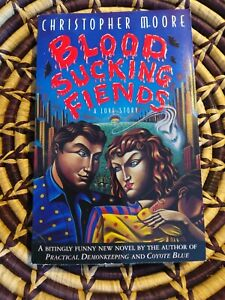 Bloodsucking Fiends by Christopher Moore Signed paperback