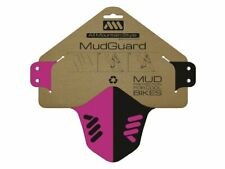 All Mountain Style AMS Mud Guard Mud Protection Magenta/Black