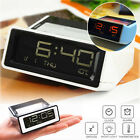 Digital LCD Display Snooze Alarm Clock Calendar Thermometer With LED Backlight