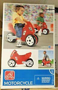 Step2 Motorcycle - Kids Motorcycle Ride On - Kids Toy Motorcycle - Red