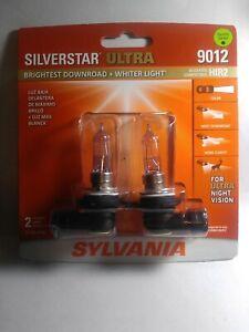 Sylvania Silverstar Ultra 9012 HIR2 55W Head Light Low Beam Replacement NEW