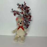 """Annalee 6"""" Doll 4th of July Bear with stars 2000-2001"""