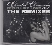 Chantal Chamandy-Feels Like Love Remixes cd maxi single 10 Tracks