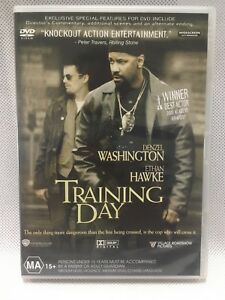 DENZEL WASHINGTON TRAINING DAY Action Adventure Movie DVD