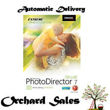 PhotoDirector 7 Deluxe : PC : Digital Download: NO CD : Auto Delivery