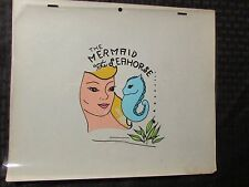 1960's? The Mermaid And The Seahorse Animation Cel Lot of 10