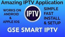 Iptv smart tv apk Android Phone et mobile