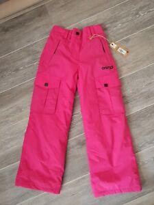 "Animal Girls Tambora Pink Nylon Ski Trousers. W22"" L24"" BNWT"