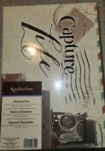 015 Recollections Memory Box Capture Life New Sealed Photos DVD CD Holder 11x8