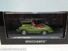 Minichamps : Porsche 356C Cabriolet 1965 Green - 430062337