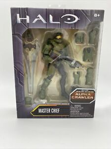 Halo Master Chief Figure Alpha Crawler Mattel New In Original Box Build A Figure