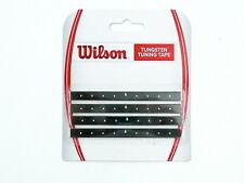 * nuevo * 4 xwilson Tungsten tuning tape plomo banda tenis lead plomb 4x2,5g Wolfram 10g
