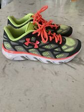 UNDER ARMOUR~Spine, Womens Grey/ Neon Running Cross Training Shoes Size 7.5