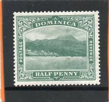 Dominica EV11, 1908-20, 1/2d blue-green sg 47 LH.Mintt