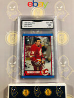 1989 O-Pee-Chee Theo Fleury #232 Rookie - 10 GEM MINT GMA Graded NHL Hockey Card