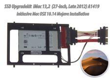 """1TB SSD Upgradekit iMac (27"""" Late 2012) 13,2 A1419 Mac OSX 10.14 und Werkzeug"""
