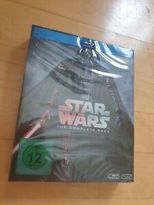 Star Wars: The Complete Saga [9 Blu-rays] - 6 Episoden NEU