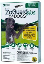 ZoGuard Plus Flea and Tick Drops for XL Dogs, 3 Months, 89-132 lbs.
