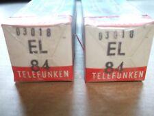 1x TELEFUNKEN el84 Nouveau/Neuf dans sa boîte/nos tubes, Same code production