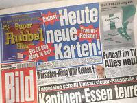 Bildzeitung vom 14.01.1999 * 18. 19. 20. Geburtstag Geschenk * Willi Kebben