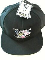 Vans x Disney Mickey Mouse 90th Birthday Hat Baseball Cap Black Adjustable NWT