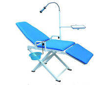 Dental Medical Portable Movable Chair LED Cold Light Folding Chair Mobile Unit