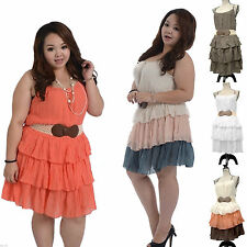 Unbranded Polyester Casual Plus Size Dresses for Women