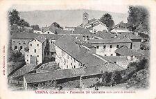 5414) VERNA (CASENTINO AREZZO) PANORAMA DEL CONVENTO DALLA PARTE DI NORD EST.
