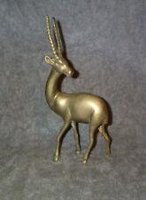 "Brass or Bronze Antelope, Gazelle,Oryx, Impala or Deer Deco Sculpture 10.5"" Cast"