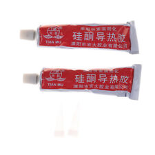 HeatSink Paste Silicone Thermal Conductive Compound Curing Sticky Adhesive FO