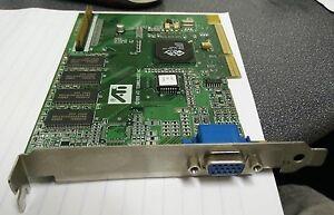 Lot of 3 ATI 3D RAGE LT PRO 109-55700-01 8MB AGP VGA GRAPHICS Cards