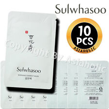 Sulwhasoo Radiance Energy Mask 5ml x 10pcs (50ml) Sample AMORE PACIFIC