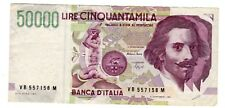 Italie ITALY ITALIA Billet 50000 LIRE 1992 P116 A. CANFARINI BON ETAT