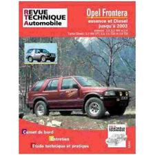 Livre Revue technique Opel Frontera 1992-2003 - RTA Tap369