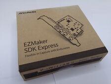 AverMedia EZMaker SDK Express C725B PCI-E video capture card NTSC PAL SECAM