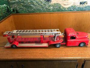 Vintage Structo Pressed Steel Fire Truck