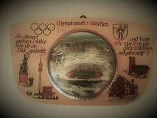 Wandtafel OLYMPIA OLYMPIADE 1972 München alt antik Sport Olympiastadion