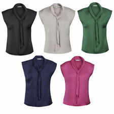 Satin Casual Blouses for Women