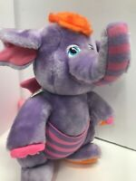 "Wuzzles Eleroo Plush Elephant Vintage Hasbro Disney Softies Doll 1984 12"" Tall"