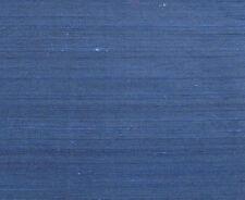 """Deep Dark Blue. Indian Dupioni Silk.  44"""" Wide, Elegant Fabric.  1 Yard. Sewing"""