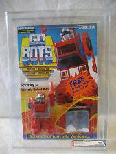 AFA 85 vintage Tonka GoBots SPARKY robot Go Bots MOC Bandai Machine Robo SEALED